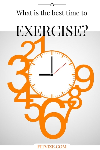 What is the best time to exercise? Find out at fitvize.com