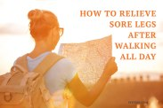 Remedy for sore legs