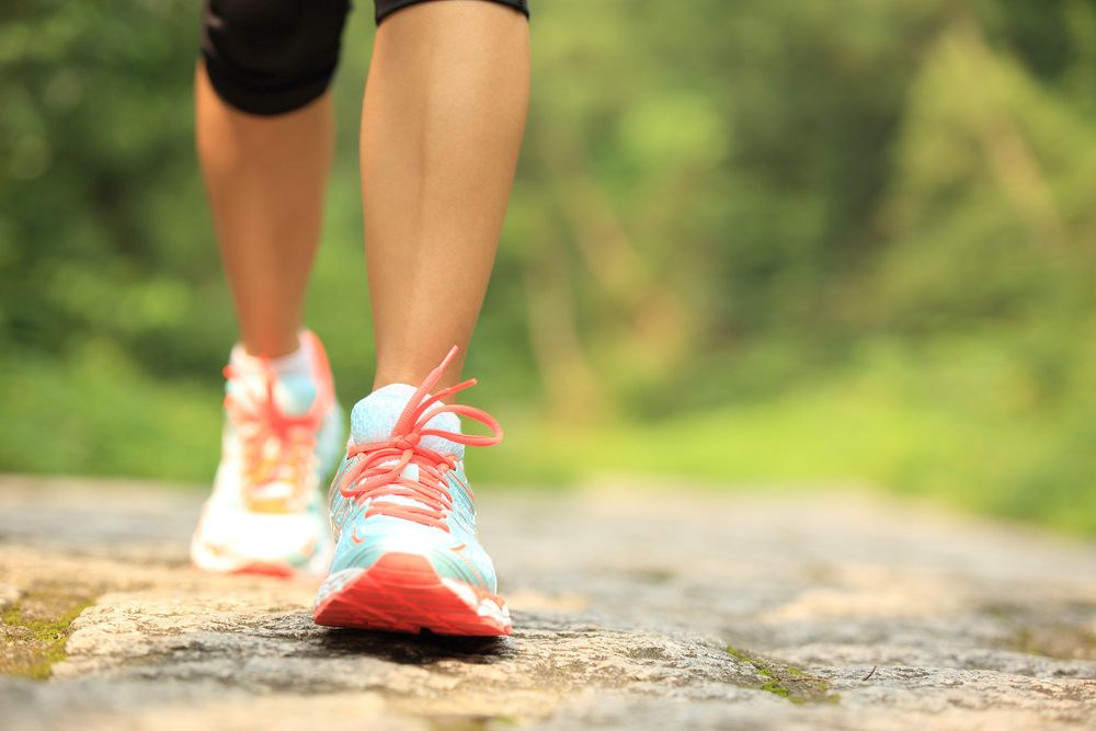 Power walking - one of cool 7 ways to stay fit in summer https://fitvize.com